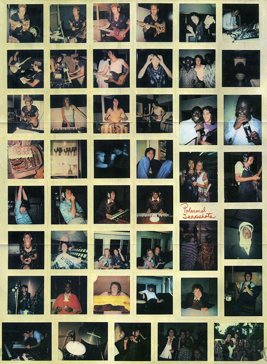 Paul Mccartney And Wings Band On The Run Santa П93 00581