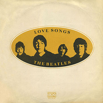 The Beatles – LOVE SONGS 2LP (Balkanton ВТА 1141/42) - gatefold sleeve (var. 2), front side
