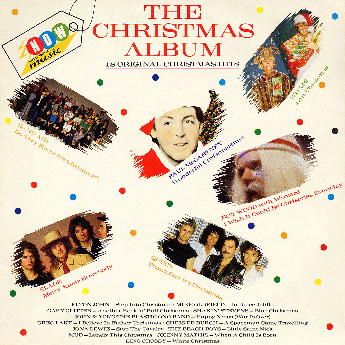 Various Artists - NOW – THE CHRISTMAS ALBUM by EMI/Virgin label (UK)
