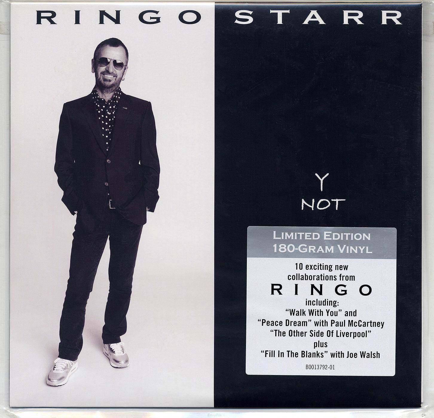 Ringo Starr - Y NOT (Hip-O Records B0013792-